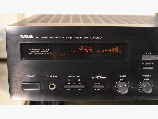 YAMAHA RX-350 STEREO RECEIVER  * NICE * * MADE IN JAPAN *