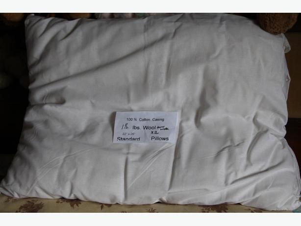 100% Wool Filled Pillows