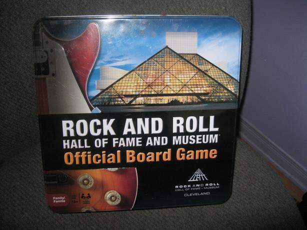 BRAND NEW - ROCK & ROLL Hall of Fame And Museum Board Game