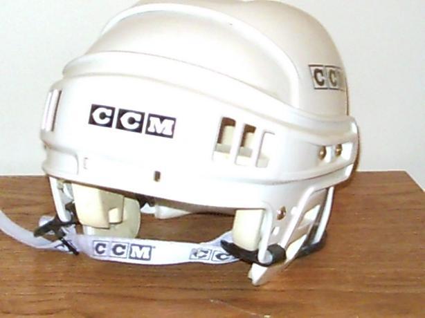 Boy's CCM standard helmet.