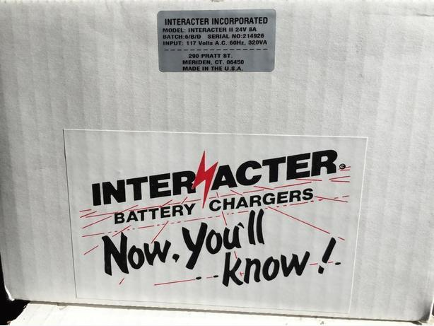Interacter Battery Chargers New and Used.