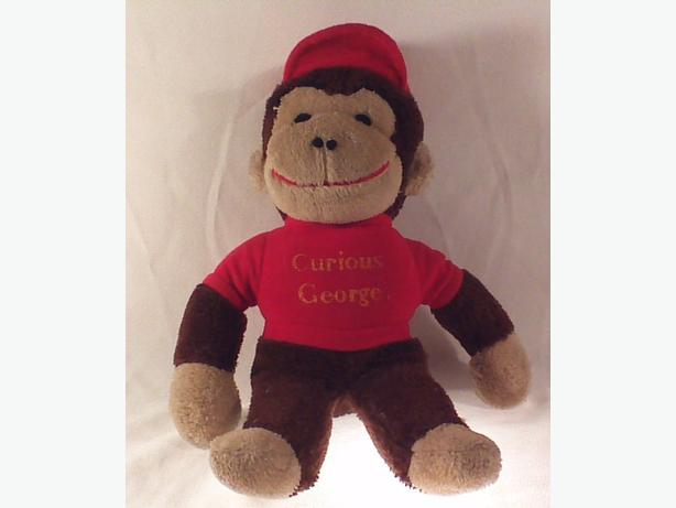 Retro Curious George monkey toy