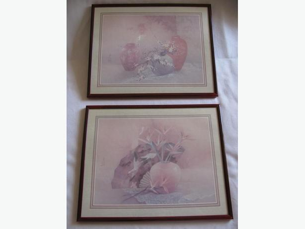 Lena Liu Collectible Framed Litho Prints Set of 2