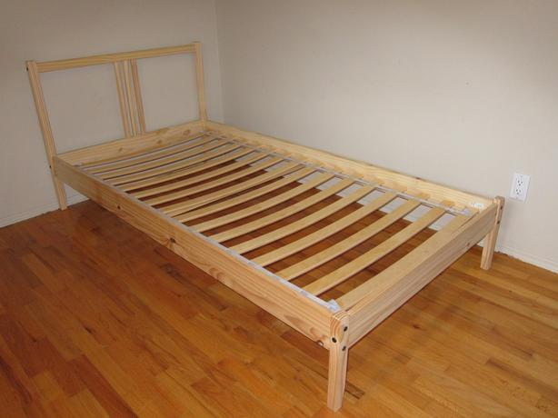 Ikea Pine Bed Frame And Base Fjellse Saanich Victoria