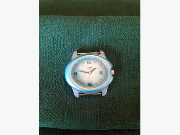 Vintage Timex Indiglo Oval Face Watch