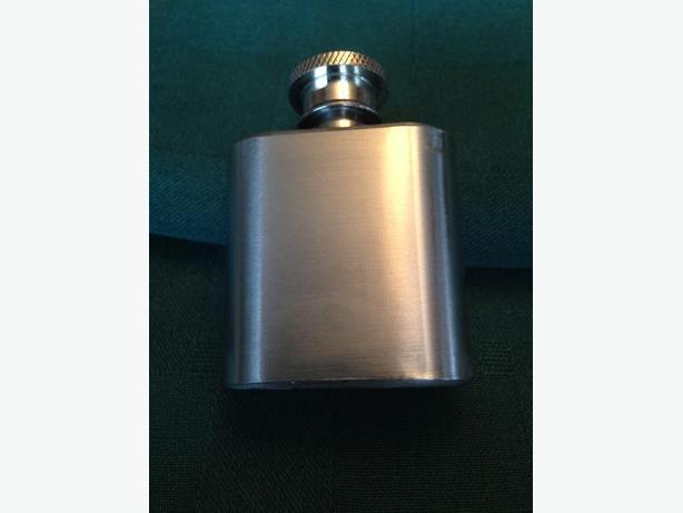 1 Ounce Stainless Steel Flask