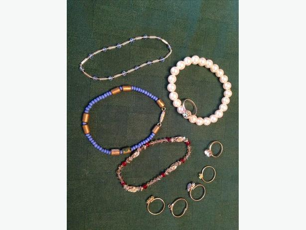 Girls Jewelry - Rings and Bracelets