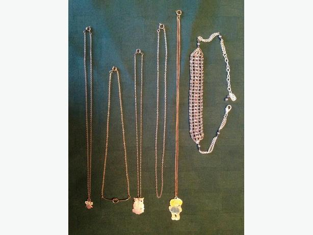Various Necklaces starting at $3