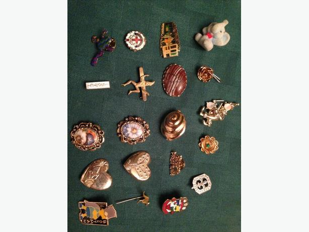 Various Broaches / Pins starting at $2