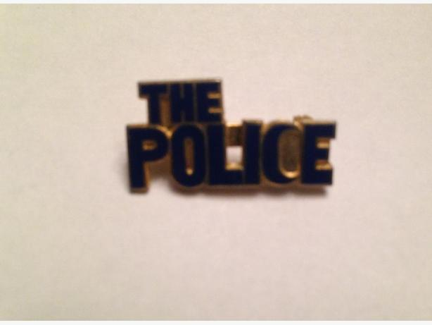 1980's The Police (Rock Band) Pin
