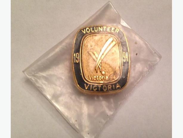 Vintage Volunteer Victoria 1994 Pin