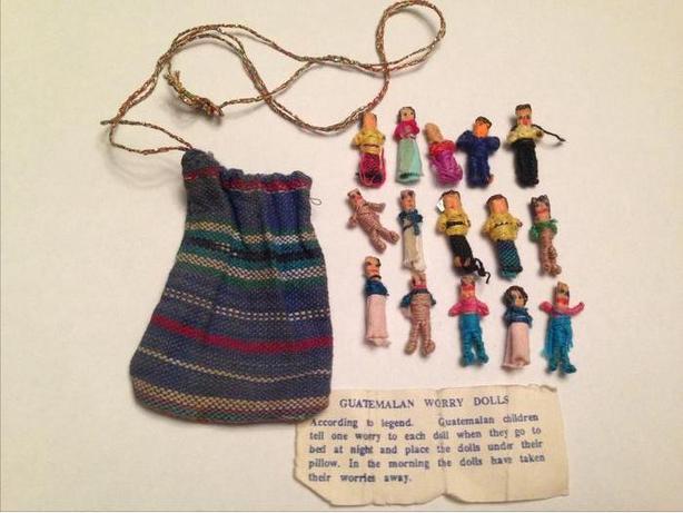 18 Guatemalan Worry Dolls