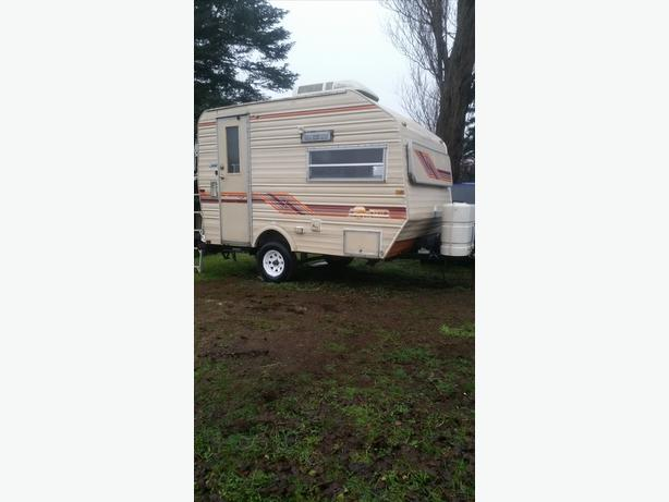 1984 13 Ft Sunline Travel Trailer Outside Victoria Victoria