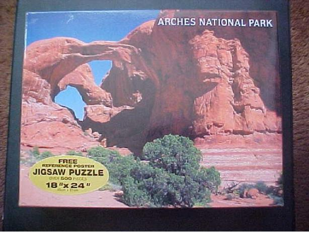 ARCHES NATIONAL PARK JIGSAW PUZZLE