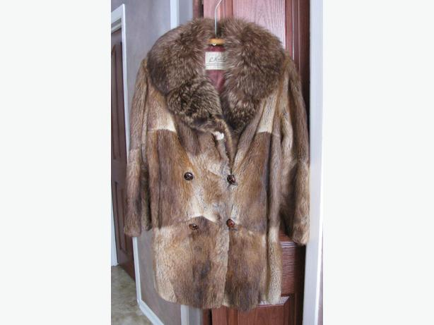 Vintage Man's Otter Fur Coat