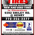 """New, 195/60R15""""Tires"""