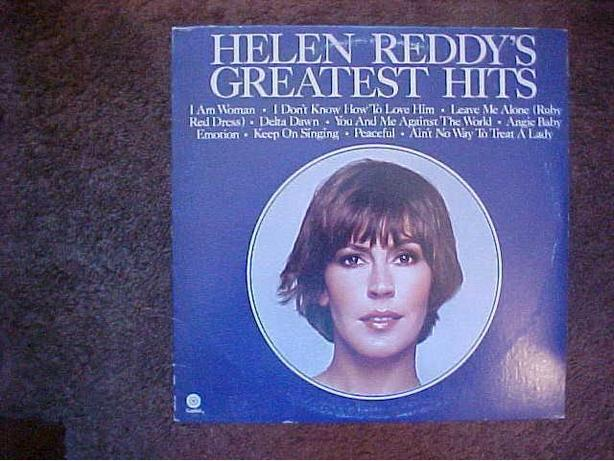 HELEN REDDYS GREATEST HITS VINYL LP
