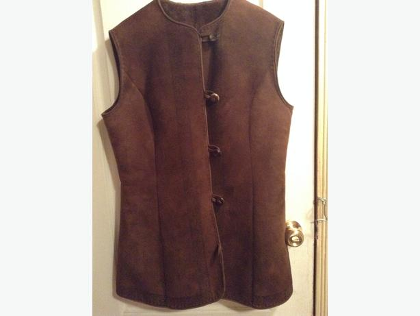 Sheepskin vest from Norway
