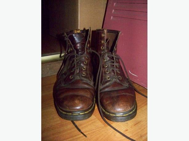Doc Martins Air Bounce lace-up boots