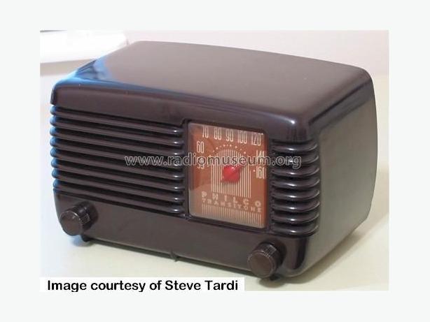 Working Antique Philco 48-200 Bakelite Radio 1948