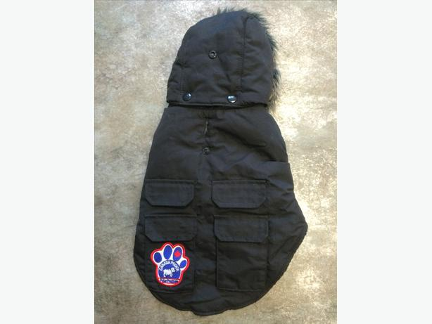 Canada Pooch Winter Parka black size X-small