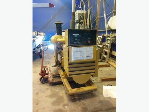 CATERPILLAR 3304 Diesel Generator 141 KVA / 113 KW Rated