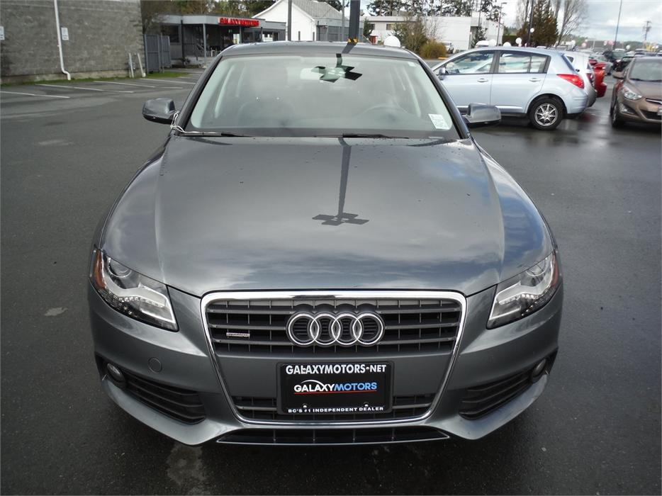 2012 Audi A4 2 0t Leather Bluetooth Heated Front Seats