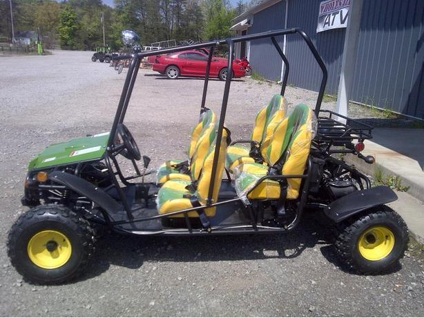BRAND NEW KIDS/TEEN 4 SEATER DUNEBUGGY/GO CART(JOHN DEERE GREEN)