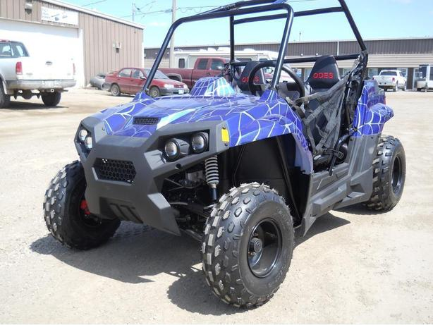Brand New Kids/Youth/Teen 150cc ODES UTV Side by Side Dune Buggy