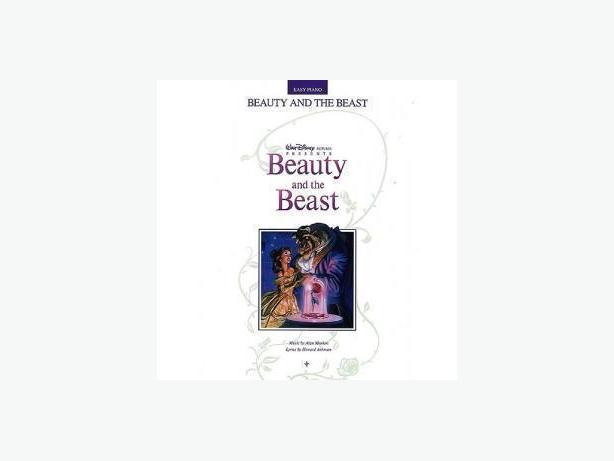 Beauty and he Beast Music Book