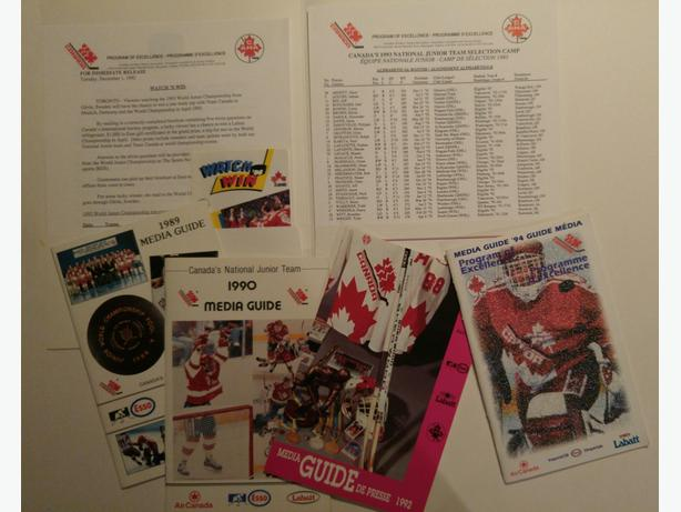 World Junior Media Guides and Press Kit