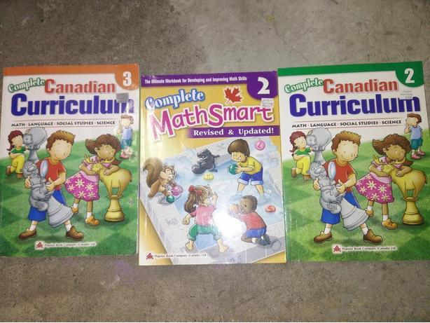 Complete Canadian Curriculum and  Mathstart books