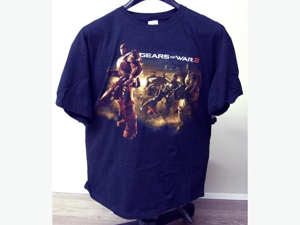 Vintage Mens Gears off war 2 T-shirt