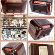RCA 56x Bakelite Antique Radio 1945