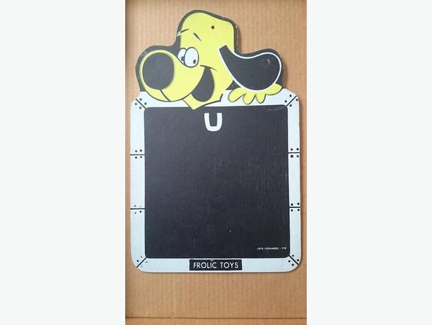 Underdog chalkboard