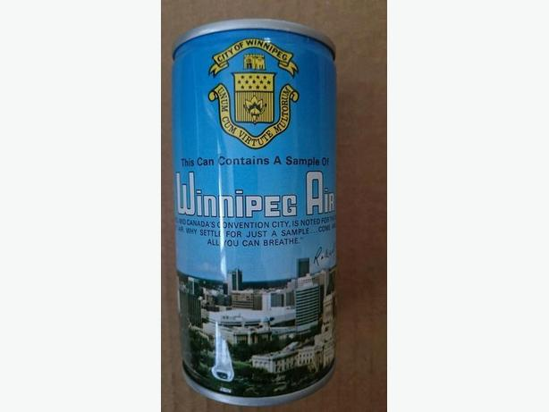 sealed can of Winnipeg Air