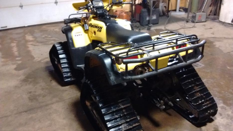 Campbell River Honda >> 2003 Honda Foreman 400 with or without tracks PRINCE COUNTY, PEI