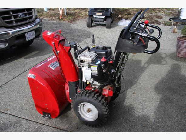 craftsman 9.5 hp snowblower manual