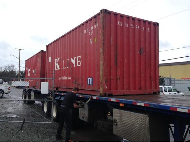 Good Used 20' shipping containers - Vancouver - $2300