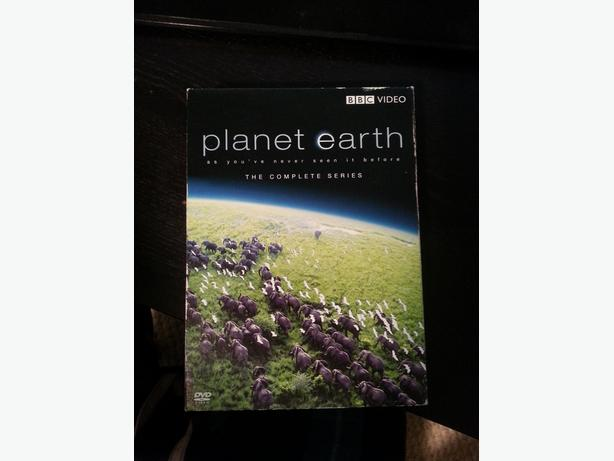 Planet Earth DVD set