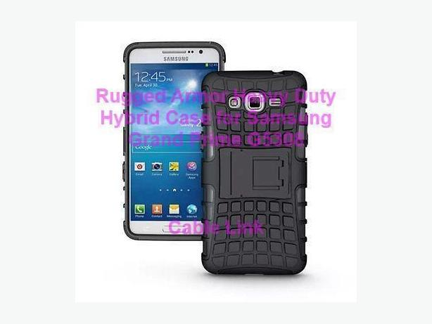 New Rugged Armor Heavy Duty Hybrid Case for Samsung Grand Prime