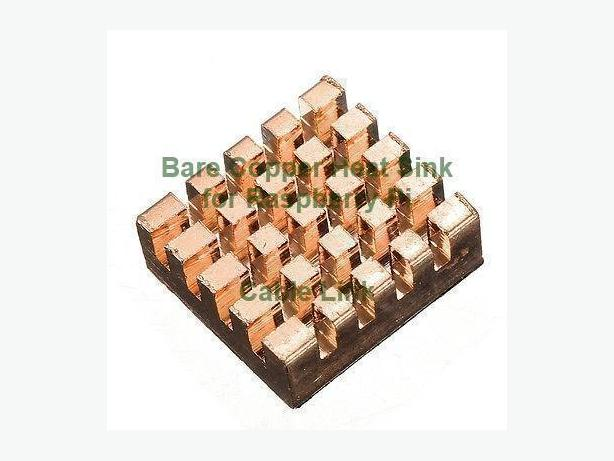 Self-adhesive Bare Copper Heatsink Cooling Kit for Raspberry Pi