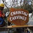 Chainsaw Carved Seagull