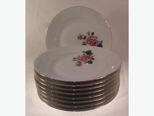 East German china side plates