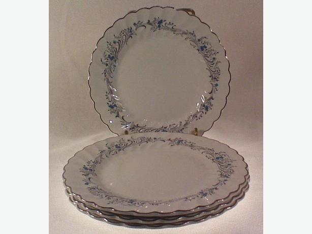 Johnson Bros Snowhite Regency Ironstone side plates