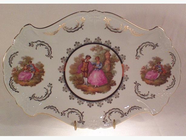 Gloria Bavaria Fragonard plattter