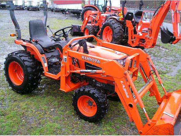 Kubota B7510 Hst Outside Comox Valley Campbell River