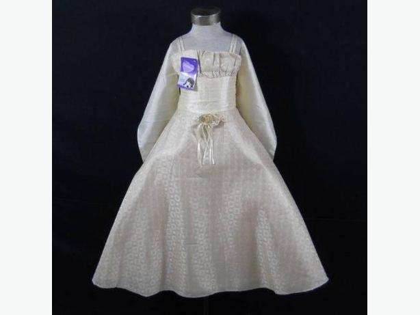 Brand New Ivory Flower Girl Dress
