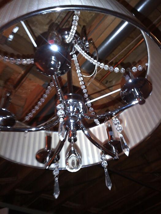 Manhattan 5 Light Ceiling Crystal Chandelier Light Fixture
