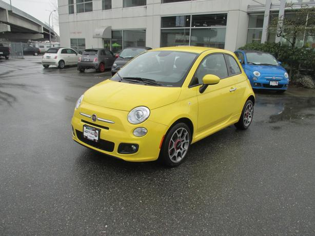 2014 fiat 500 sport langley vancouver. Black Bedroom Furniture Sets. Home Design Ideas